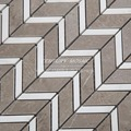 2016 new products grey marble chevron mosaic tile