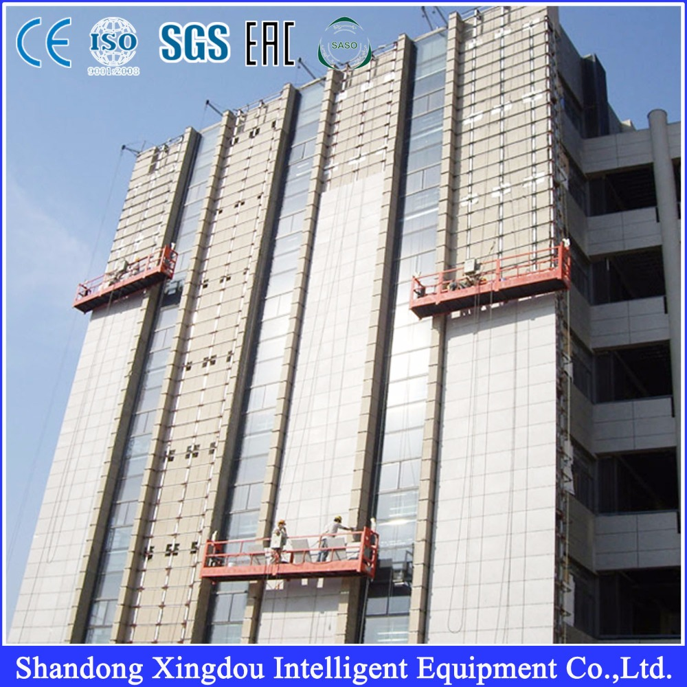Building Cleaning Gondola/ Window Cleaning Cradle/ Steel Suspended Access