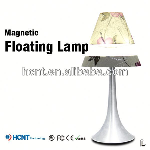 New style magnetic floating led light, fiber optic night lights