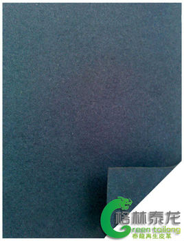 1.0mm TaiLong green embossed leather factory