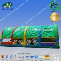 Green Color Air Top Inflatable for Amusement