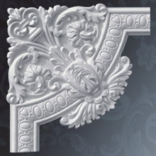 PU Decorative Frame Corners Polyurethane Wall Corners and Frames Moldings for Interior Decoration Ornament Mouldings