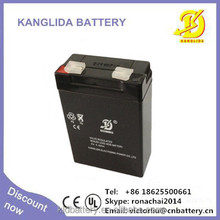 Value regulated battery/ high quality storage battry 4v4ah sealed maintenance free battery