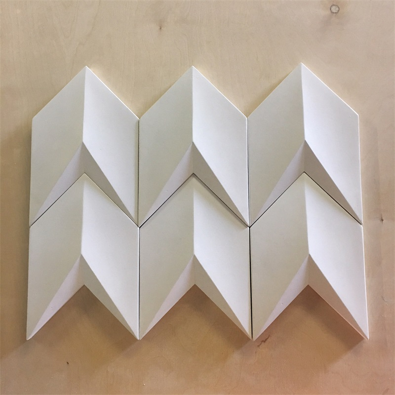 Arrow design silicone tile <strong>mold</strong> concrete wall brick <strong>mold</strong> 3D Design for Gypsum Decorative wall panels