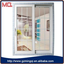 Low price pvc used sliding glass doors sale