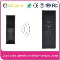 Easy digital musical led light wireless doorbell