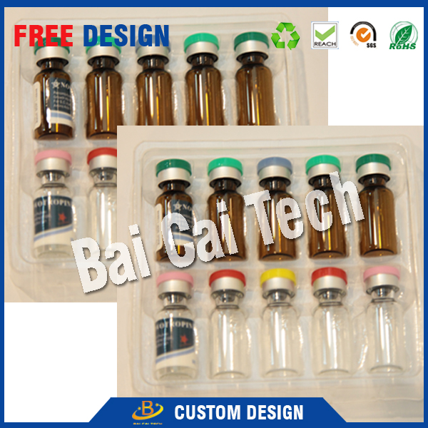 Free sample custom printing 1ml 2ml 20ml 25ml 50ml 10ml empty amber pharmaceutical vial with stopper and flip off caps