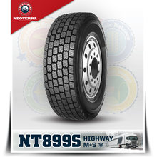 china top quality premium brand Neoterra 315/80R22.5 NT899S snow winter truck tyre