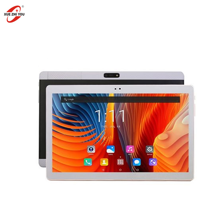 XUEZHIYOU quad core 3G tablet <strong>10</strong>'' 16GB 32GB android 7.0 OEM Customize 6000mAh battery tablet PC manufacture