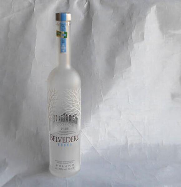 700ml vodka empty glass bottle, vodka bottles