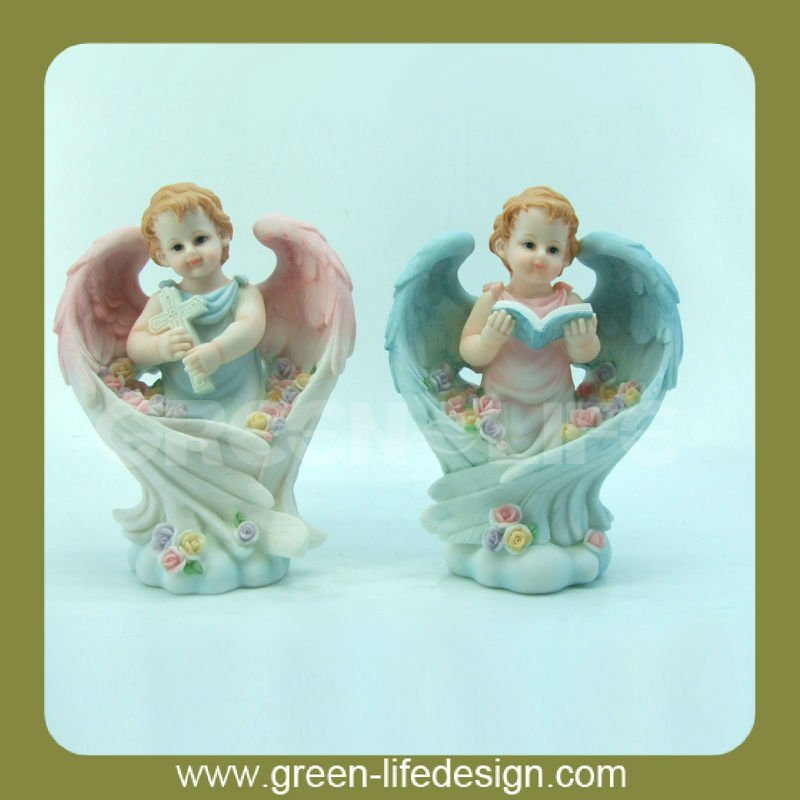 Polyresin baby angel--Jesus style