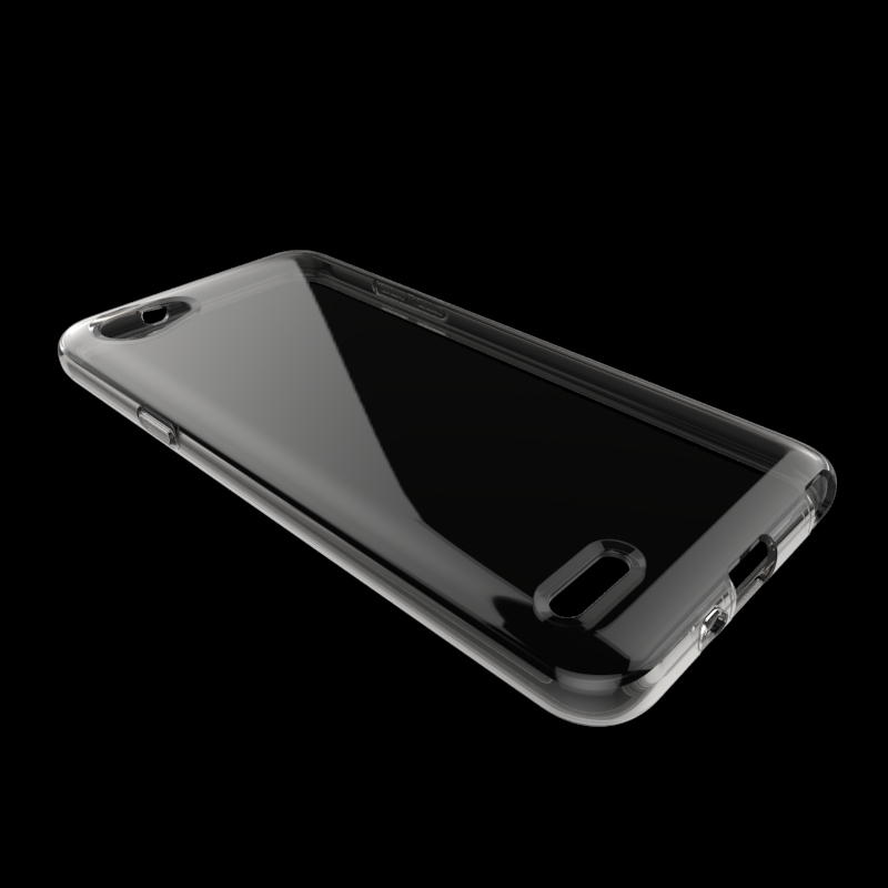 clear Transparent soft mobile phone case for LG MH tpu back cover