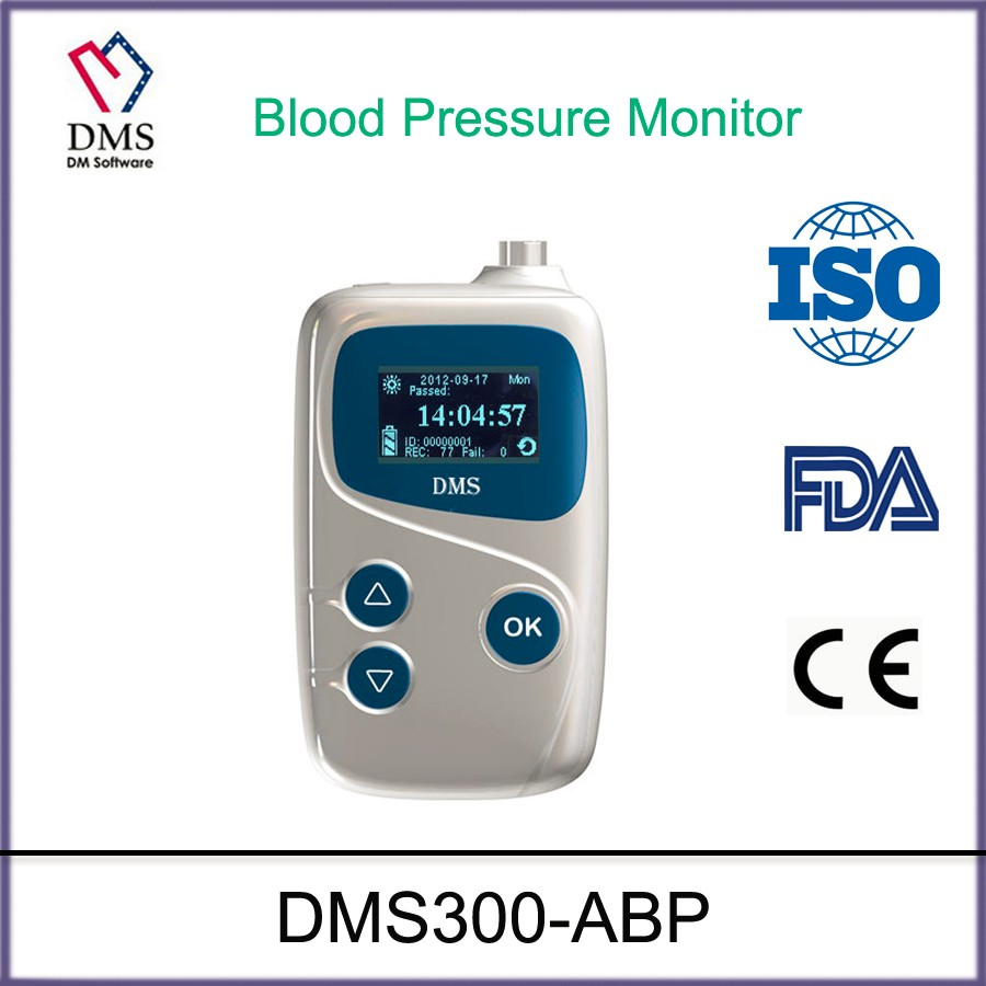 DMS ABPM Ambulatory Blood Pressure Monitor Automatic measurement medical device