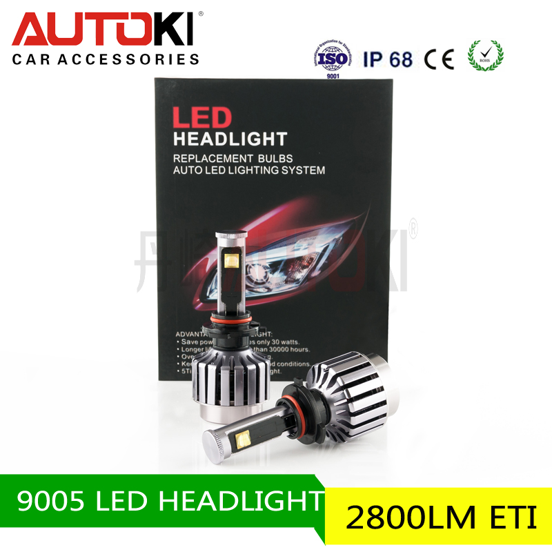 Factory Price LED Headlight Kit - 9005 9006 H1 H3 H4 H7 H11 LED Headlight Bulbs Conversion Kit with led car headlight