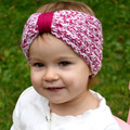 Crochet Headband Bohemian Knot Wool Hair Accessories Baby Knit Headband