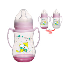 Innovation 2017 Baby Free Sample 12Oz Color Changing Baby Bottle Temperature In Bulk