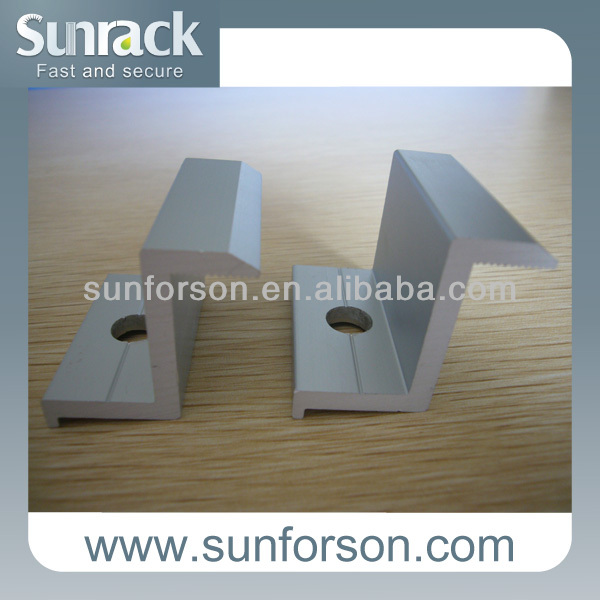 solar panel end clamps