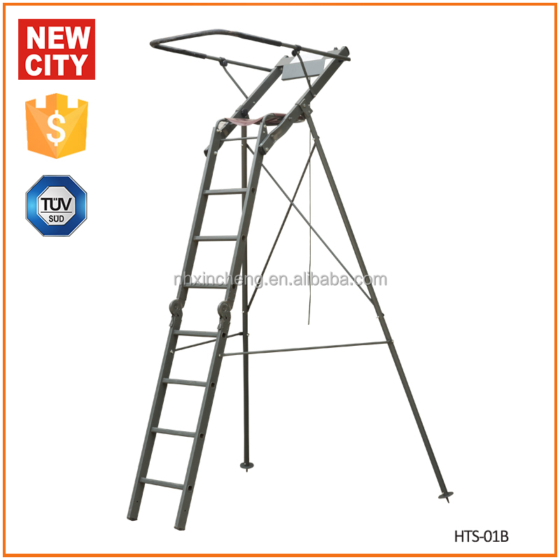 2.6m wholesale hunting ladder tree stands hunting equipment outdoor