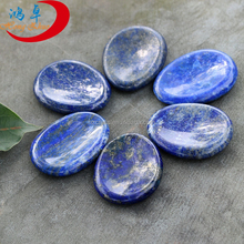 Bulk Lapis Lazuli Crystal Quartz Palm Stones Wholesale Thumb Worry Palm Stones