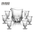 Engraved 7pcs Beautiful Drinking Glass Set