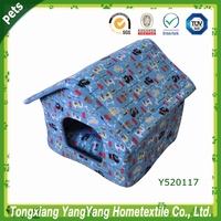 dog bed house, dog house fabric, soft dog house