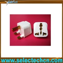 novelty gifts trading companies 2 pin eu to uk plug adapter SE-UA7