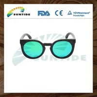 Novelties Wholesale China Bamboo Frame Sun Glasses 2014 New Style Fashion Polarized Lens Bamboo Sunglasses