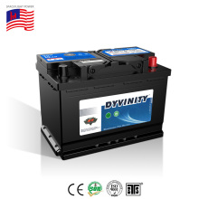 Wholesale high performance quick start maintenance free din 12v volt 72ah 57217 sealed lead acid agm automotive auto car battery
