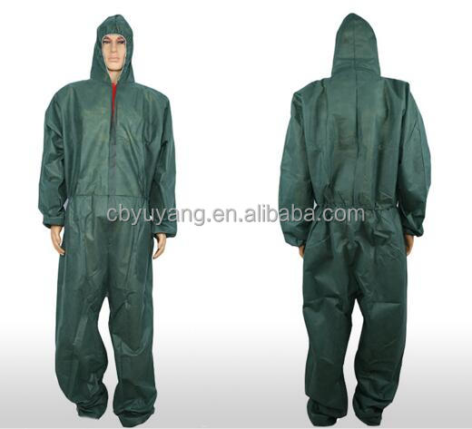 Disposable non woven SMS PP SF protective waterproof anti-static coveralls