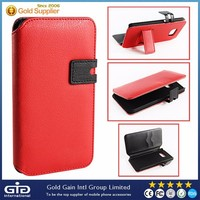[GGIT] Hotsale Wallet Mobile Phone Case for Samsung for Galaxy S6 Flip Cover