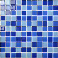 Newest Design Blue Swimming Pool Mosaic with Best Price