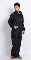 Wholesale women adult waterproof/windproof long raincoat polyester jumpsuits
