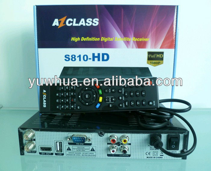 Azclass S810HD WIFI Decoder Azfox S3S