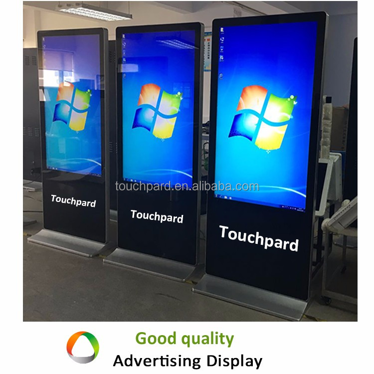 42inch touch screen all in one android tablet kiosk stand