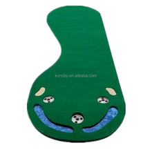 Venda quente Mini 3 Buracos de Golfe Putting Green