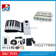 Hot selling kids 88 keys roll up piano,children toy piano HC277889