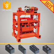 high pressure center press fly ash brick making machine High Pressure Center Press Fly Ash Brick Making Machine QTJ4-40
