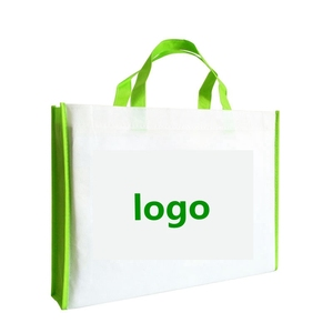 Wholesale reusable 80gsm nonwoven shopping grocery bags