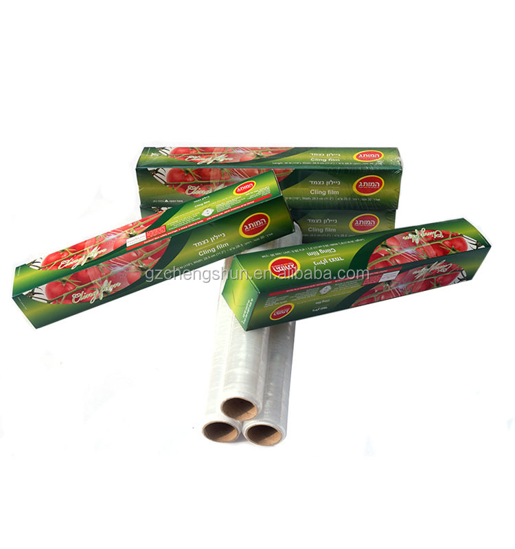 Household food wrap, clear food packing film , PE stretch wrap for food packing, plastic film