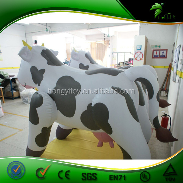 High Quality Inflatable Dairy Cattle Giant Inflatable Milk Cow Sex Doll Cartoon For Men xxx