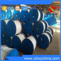 best price 6*12+7FC Electro galvanized steel wire rope /galvanized stranded wire