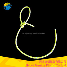 3 Strands Twisted 4mm Longline PP led fishing rope