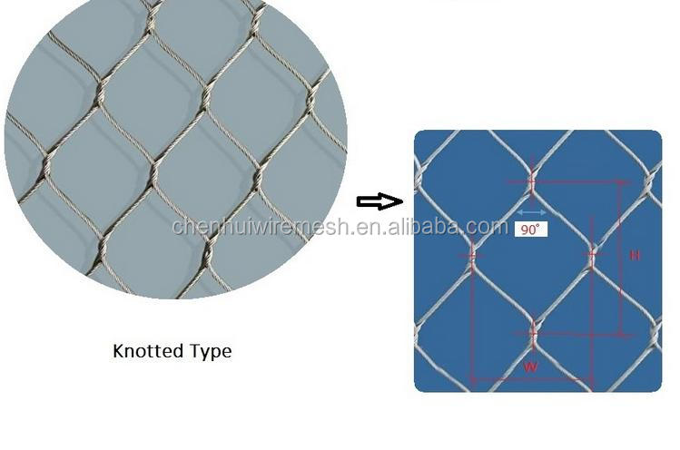 SUS 316/136L bird netting/zoo mesh for 2013