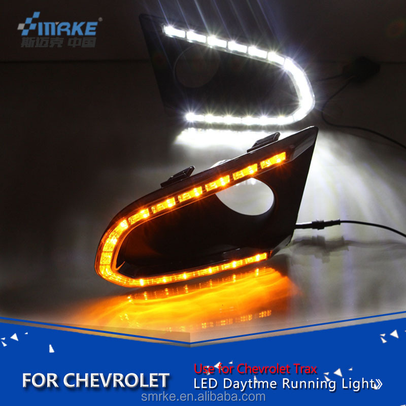 Car accessories LED DRL Auto Drl Lamp for Chevrolet Trax drl 2014-2015 Trax Daytime Running Lights