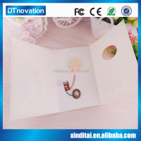 2015 New Custom printed Fashion Elegant Pocket folding Wedding Invitation cards ,Greeting Paper Cards ,Pocket fold paper cards