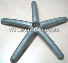 Die Casting Aluminum Office Star Chair Parts