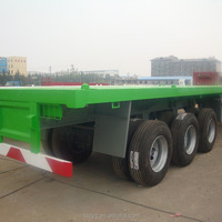 China Hot Sale 40ft Flatbed Trailer