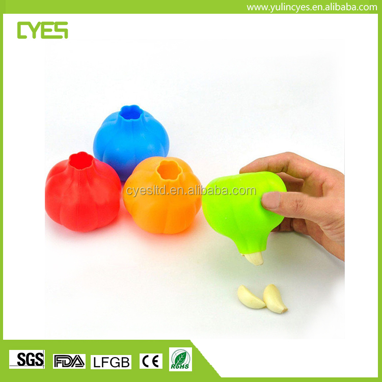 Funny good quality low price amazing peeling silicone garlic peeler