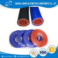 heat resistant blue high temperature flexible rubber silicone vacuum cleaner hose