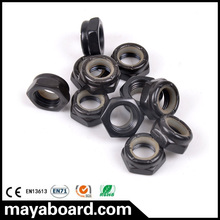 Complete skateboard parts imperial black screws for truck